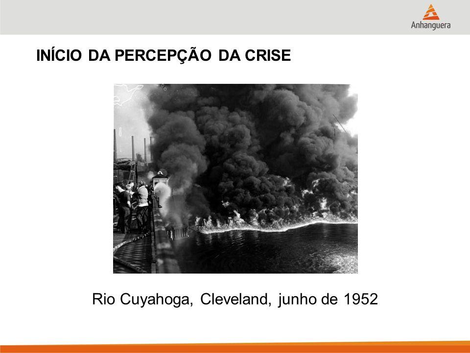 Rio Cuyahoga, Cleveland, junho de 1952