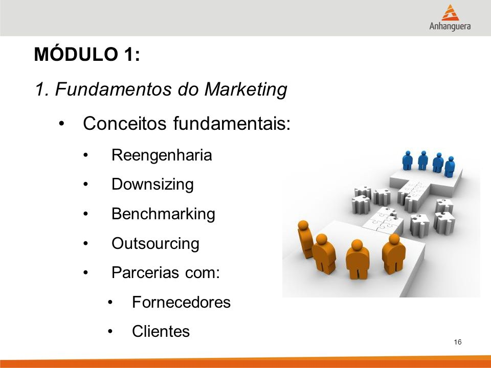 1. Fundamentos do Marketing Conceitos fundamentais:
