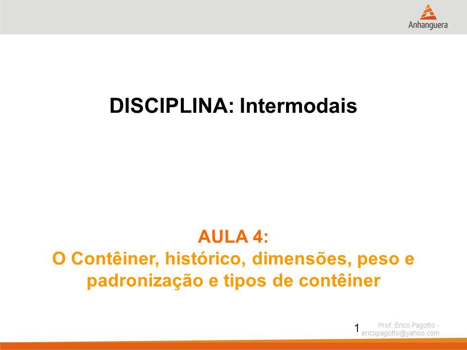 DISCIPLINA: Intermodais