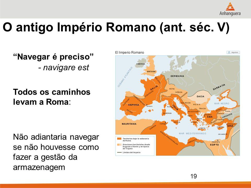 O antigo Império Romano (ant. séc. V)