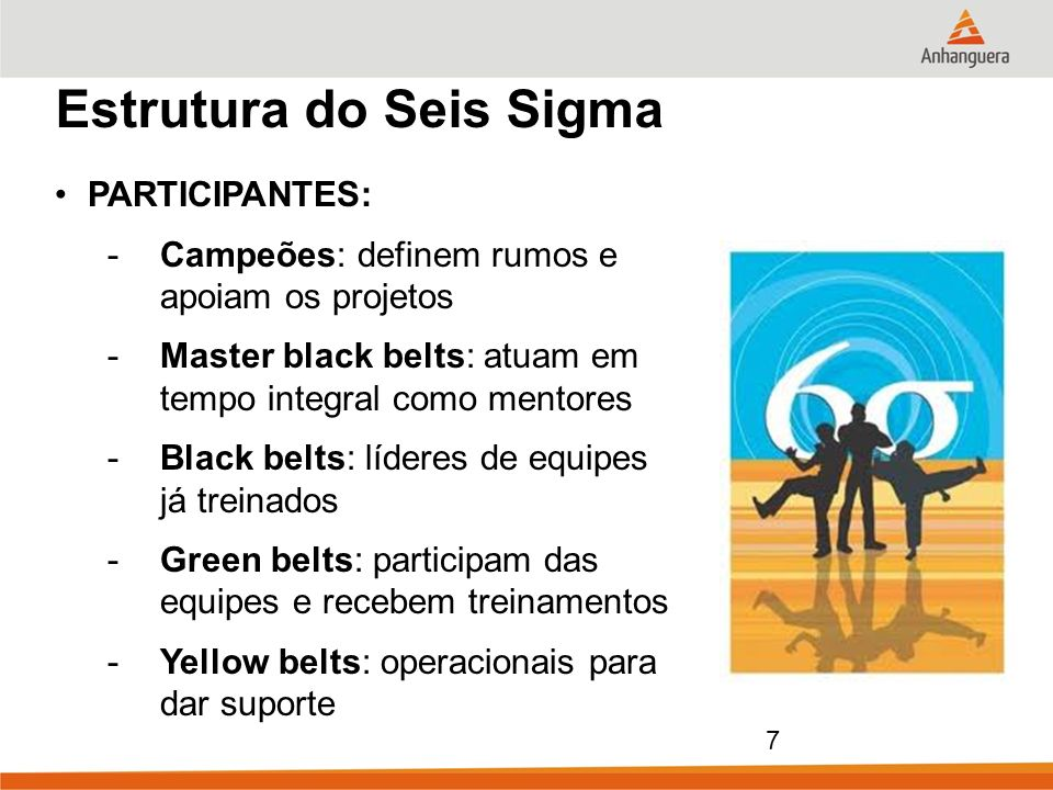 Estrutura do Seis Sigma