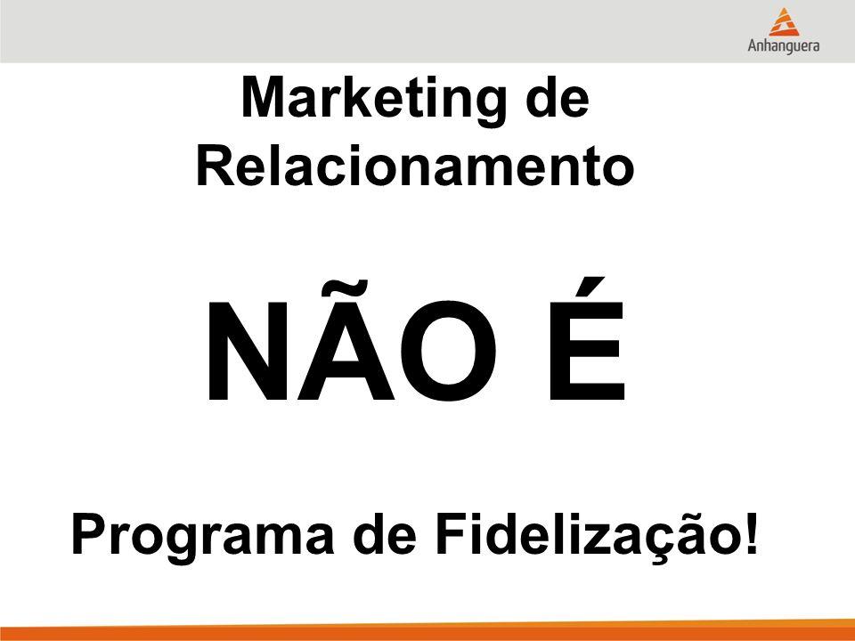 Marketing de Relacionamento Programa de Fidelização!