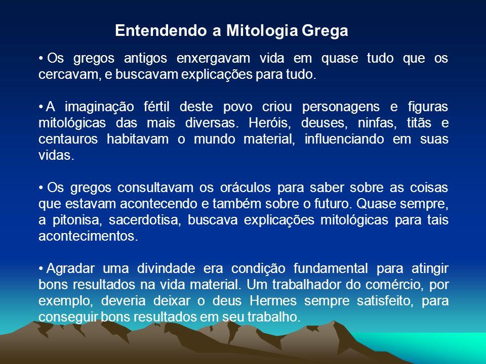 Entendendo a Mitologia Grega