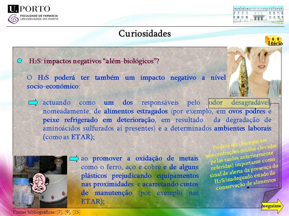 Curiosidades H2S: impactos negativos além-biológicos
