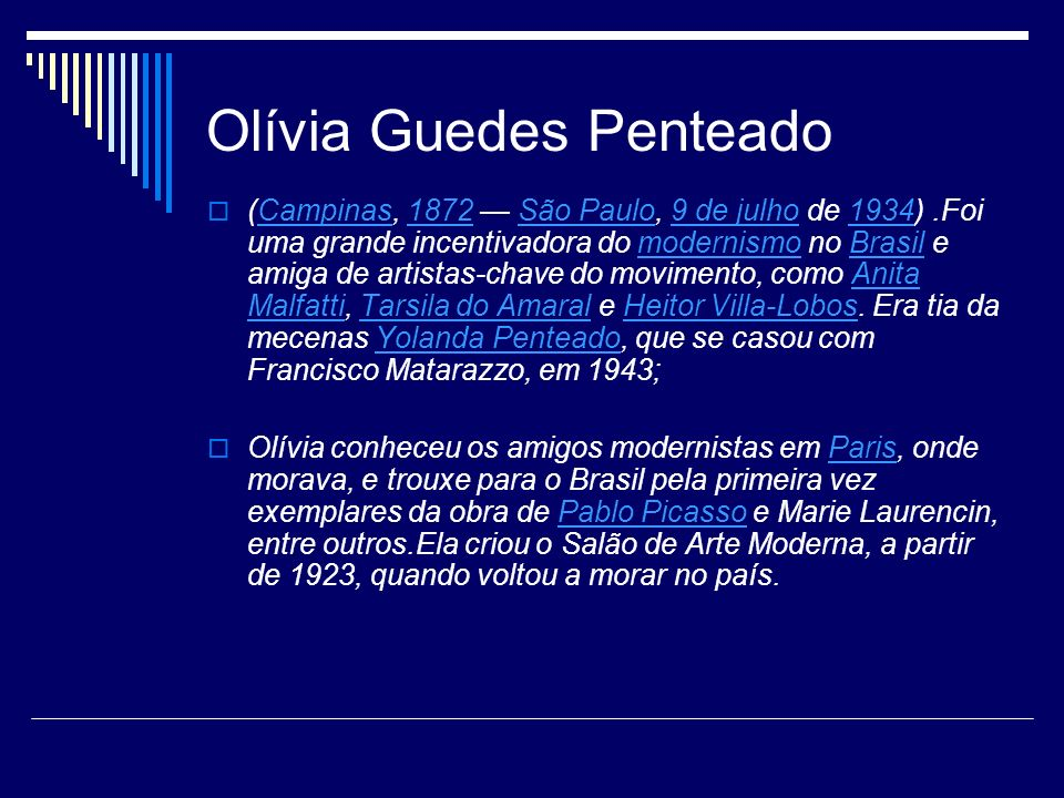 Olívia Guedes Penteado