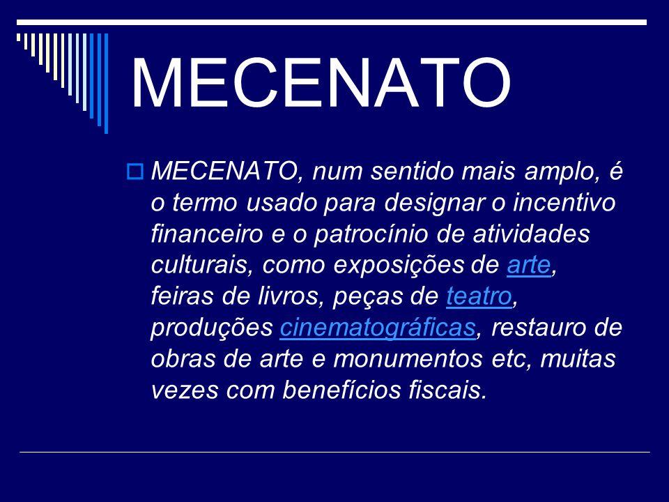 MECENATO