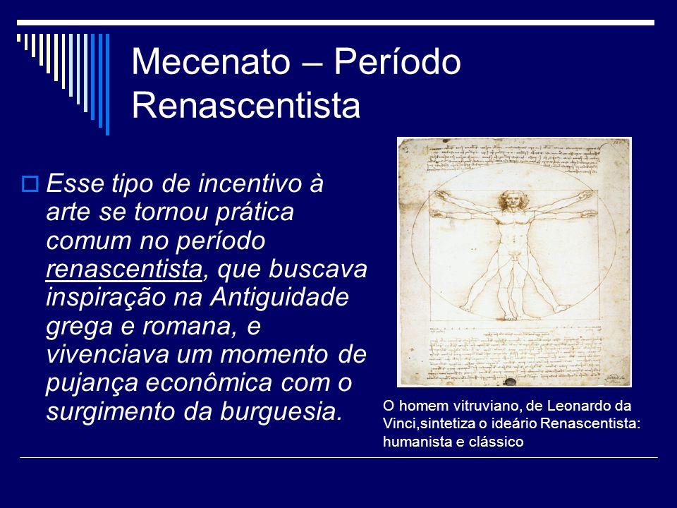 Mecenato – Período Renascentista