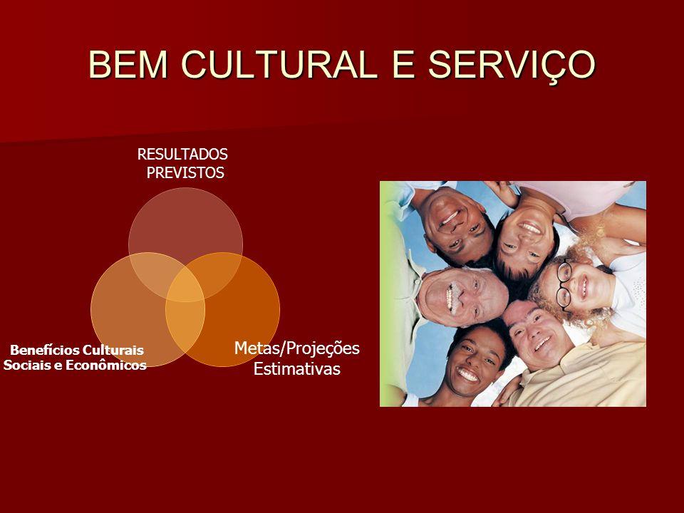 BEM CULTURAL E SERVIÇO