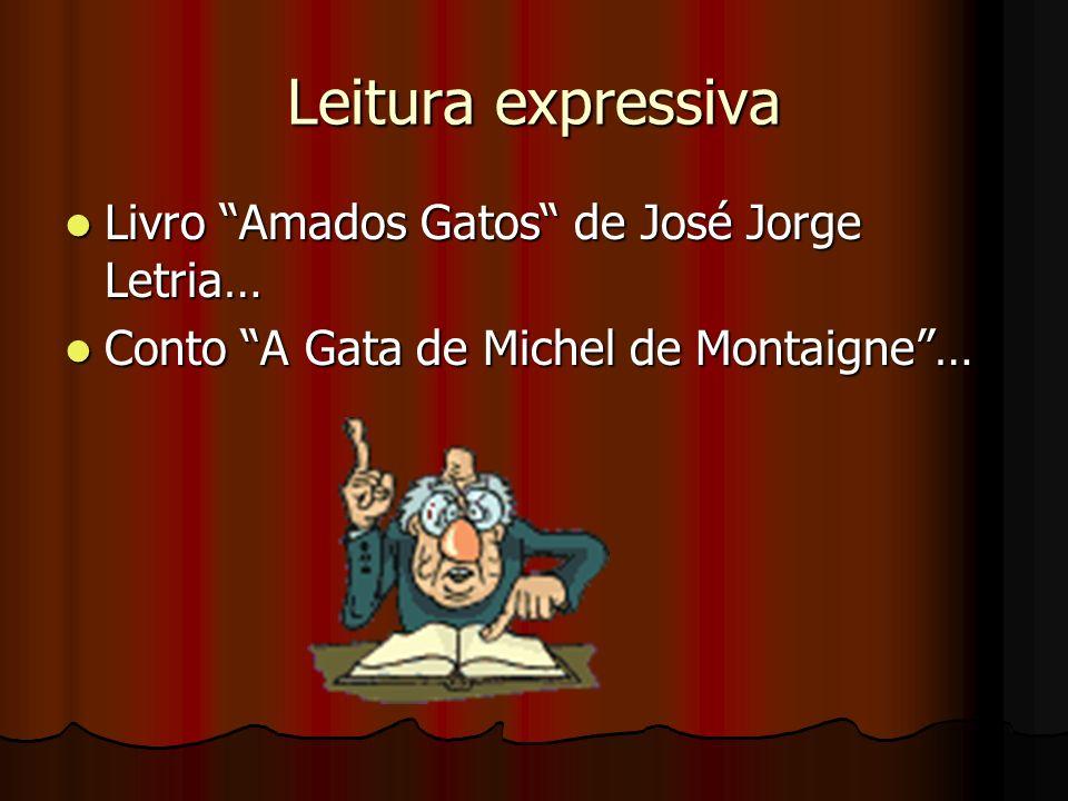 Leitura expressiva Livro Amados Gatos de José Jorge Letria…