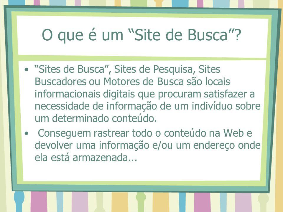 O que é um Site de Busca