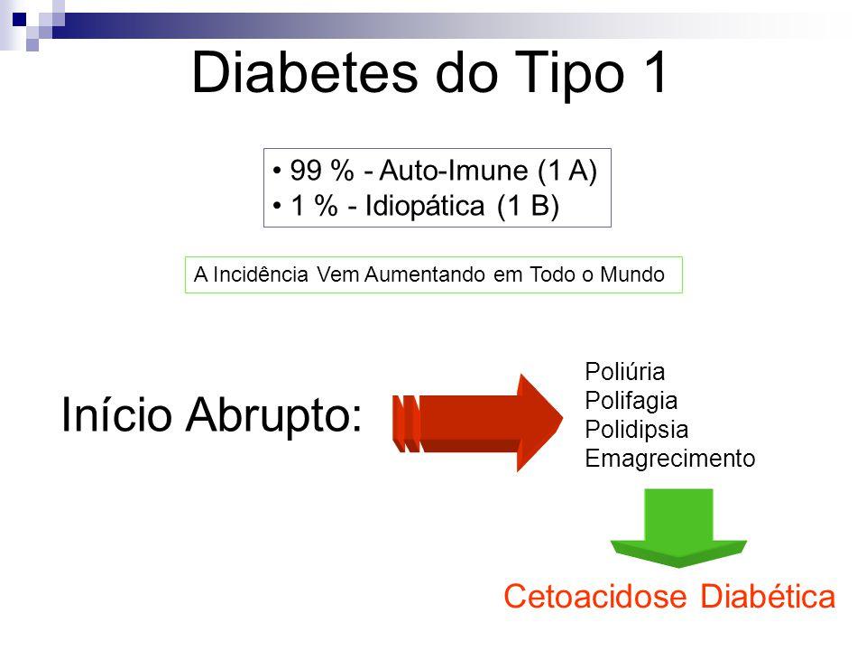 Diabetes do Tipo 1 Início Abrupto: Cetoacidose Diabética