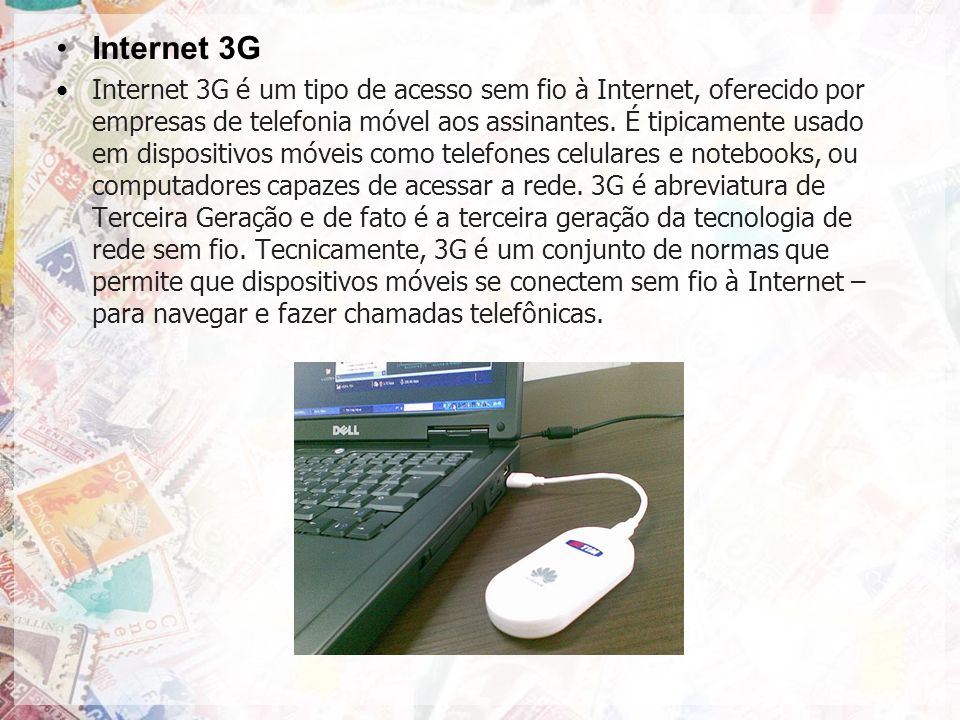 Internet 3G