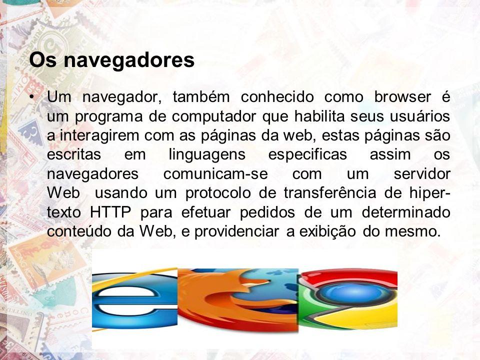 Os navegadores