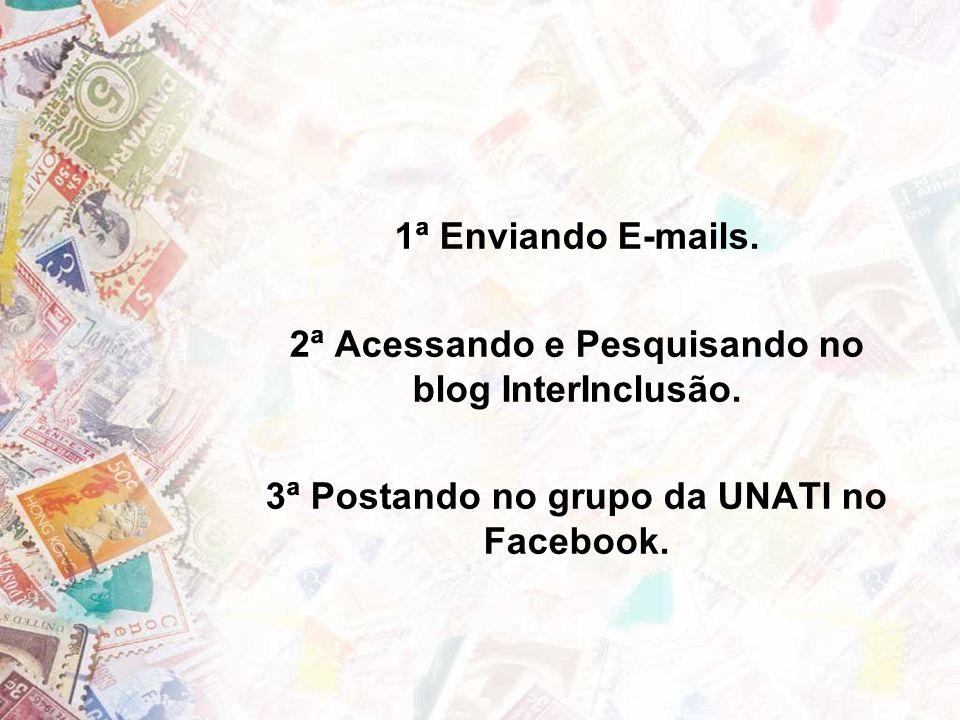 2ª Acessando e Pesquisando no blog InterInclusão.