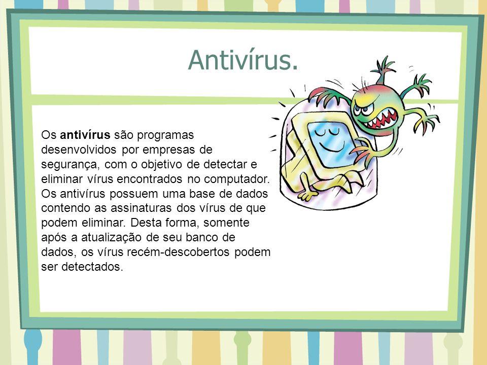 Antivírus.