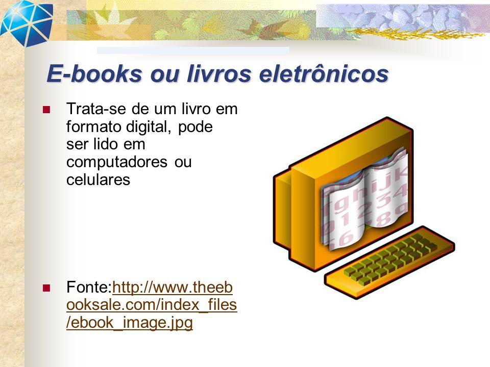 E-books ou livros eletrônicos