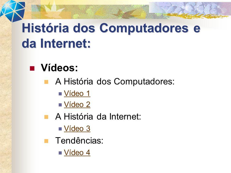 História dos Computadores e da Internet: