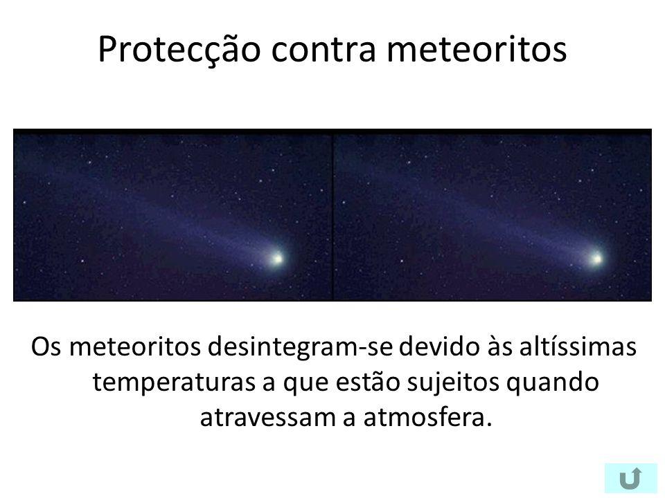 Protecção contra meteoritos