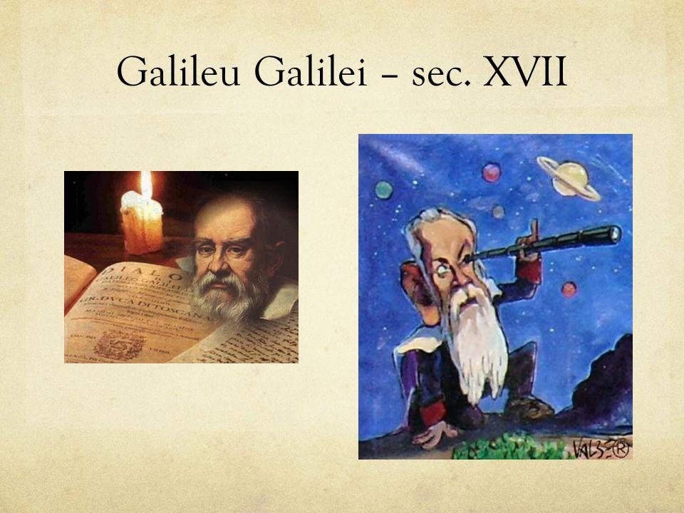 Galileu Galilei – sec. XVII