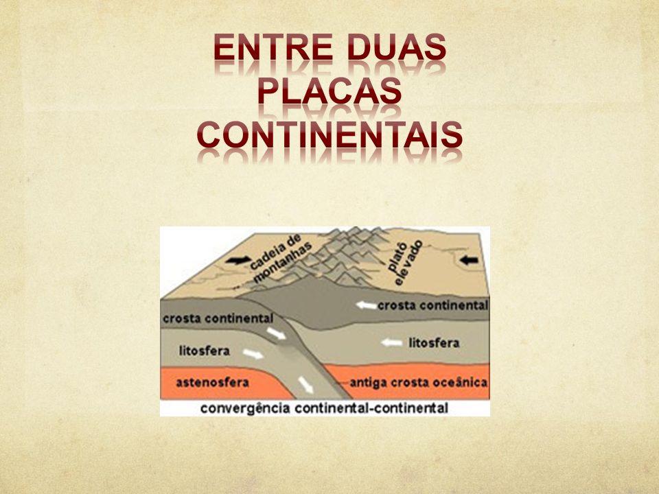 Entre duas placas continentais