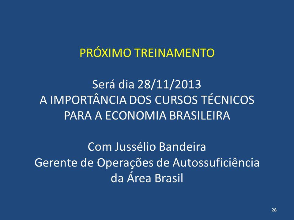A IMPORTÂNCIA DOS CURSOS TÉCNICOS PARA A ECONOMIA BRASILEIRA