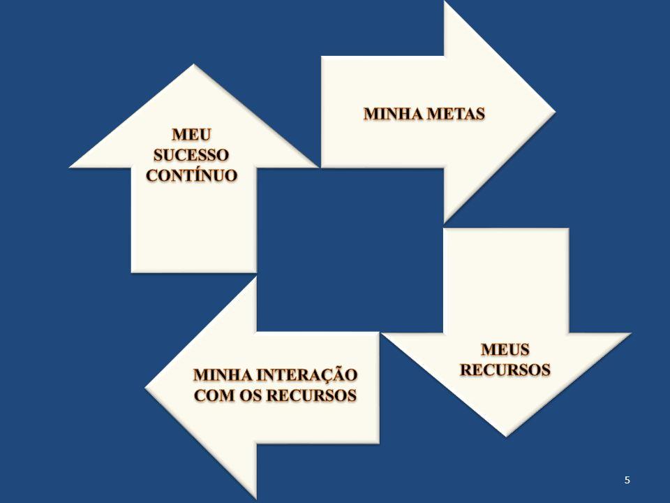 MINHA METAS MEU SUCESSO CONTÍNUO MEUS RECURSOS MINHA INTERAÇÃO COM OS RECURSOS