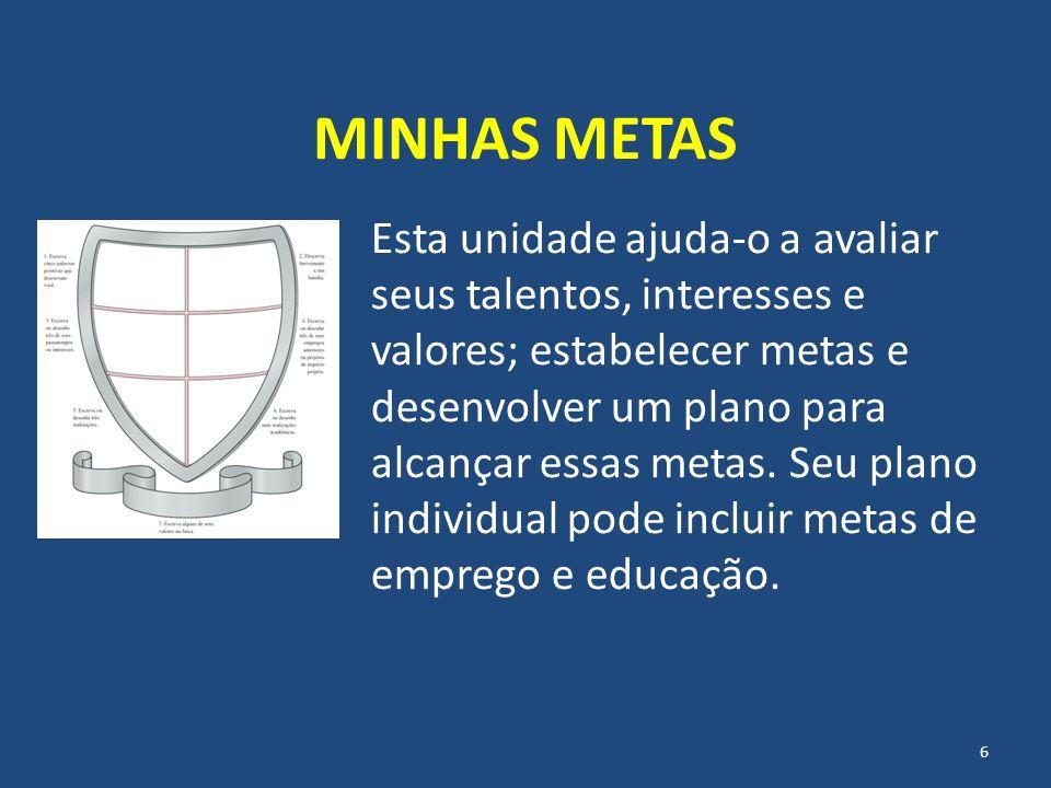 MINHAS METAS
