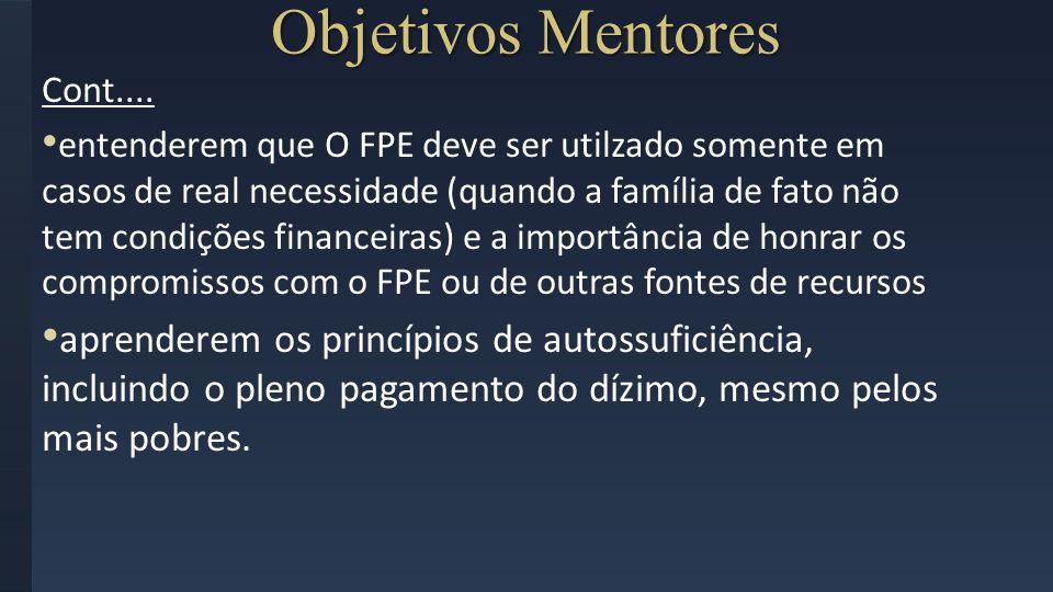 Objetivos Mentores Cont....