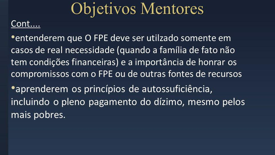 Objetivos MentoresCont....