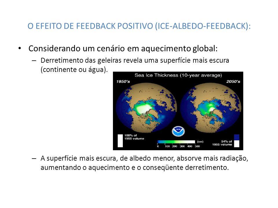 O EFEITO DE FEEDBACK POSITIVO (ICE-ALBEDO-FEEDBACK):