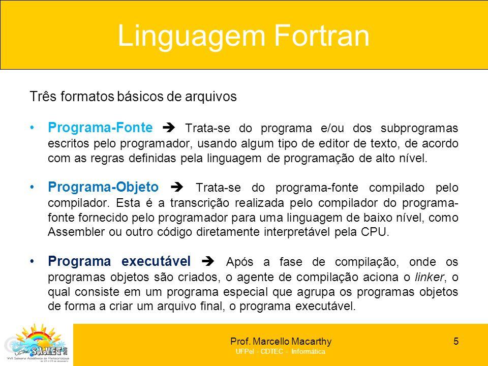 Formato do Programa Fonte