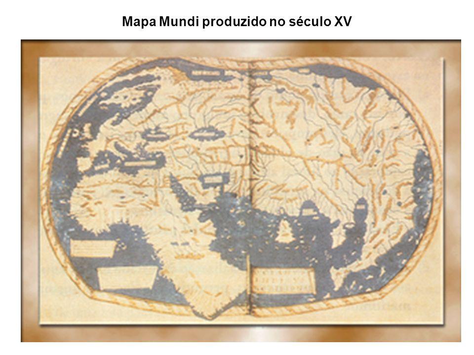 Mapa Mundi produzido no século XV