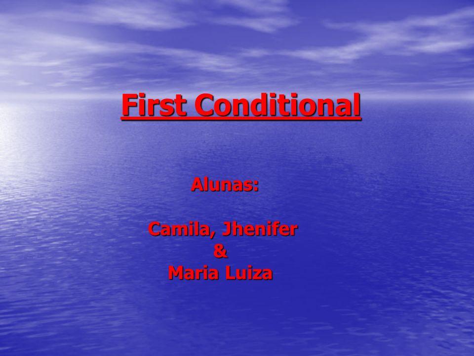 Alunas: Camila, Jhenifer & Maria Luiza