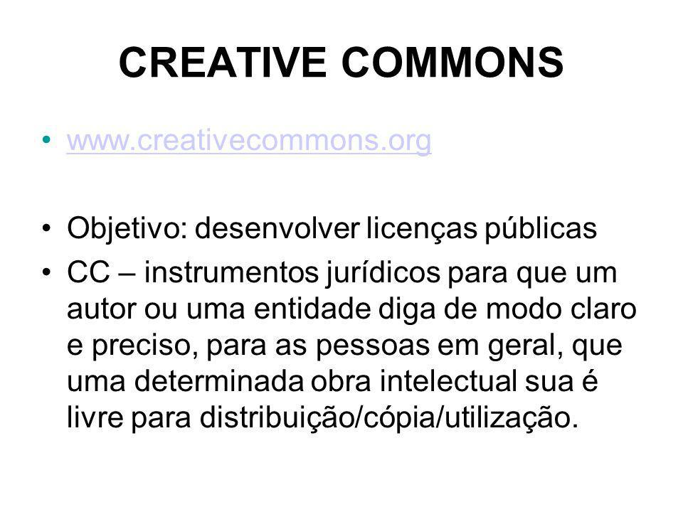CREATIVE COMMONS www.creativecommons.org