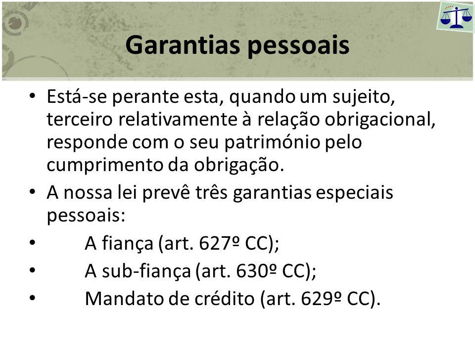Garantias pessoais