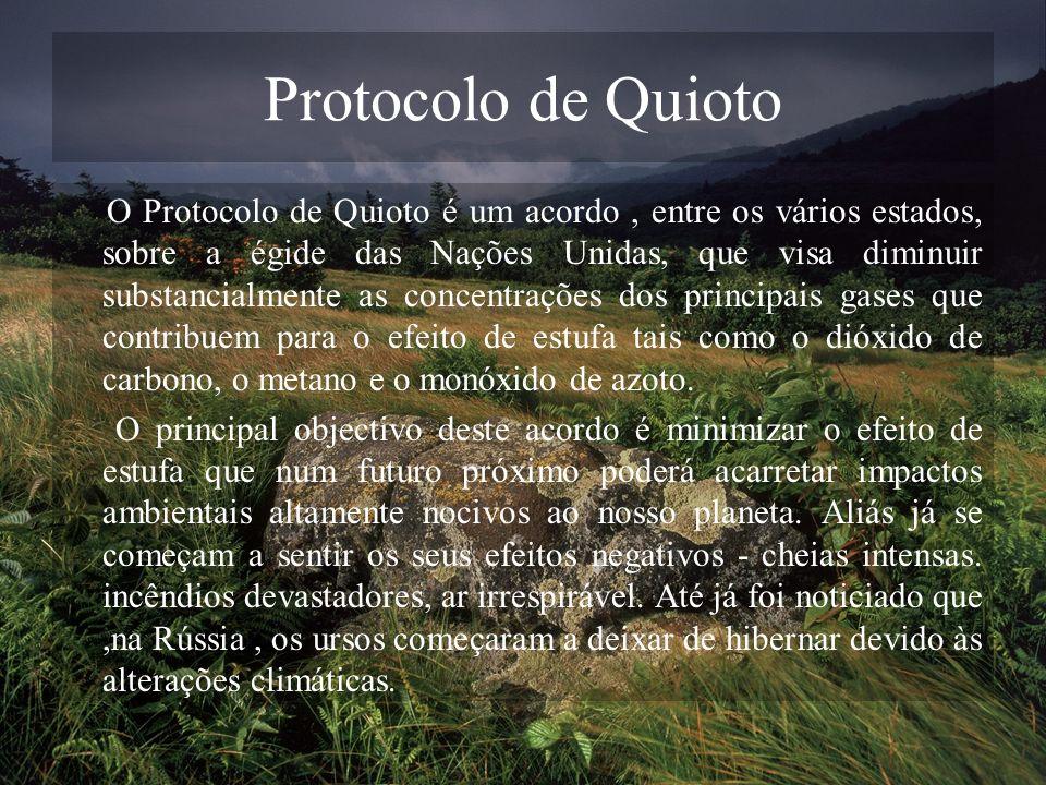 Protocolo de Quioto