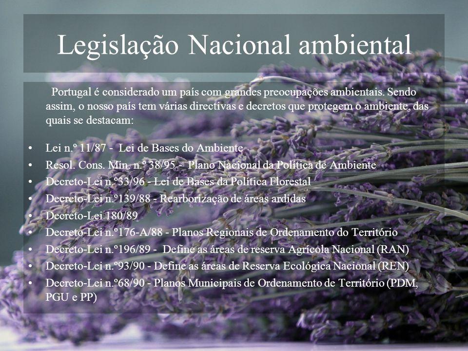 Legislação Nacional ambiental