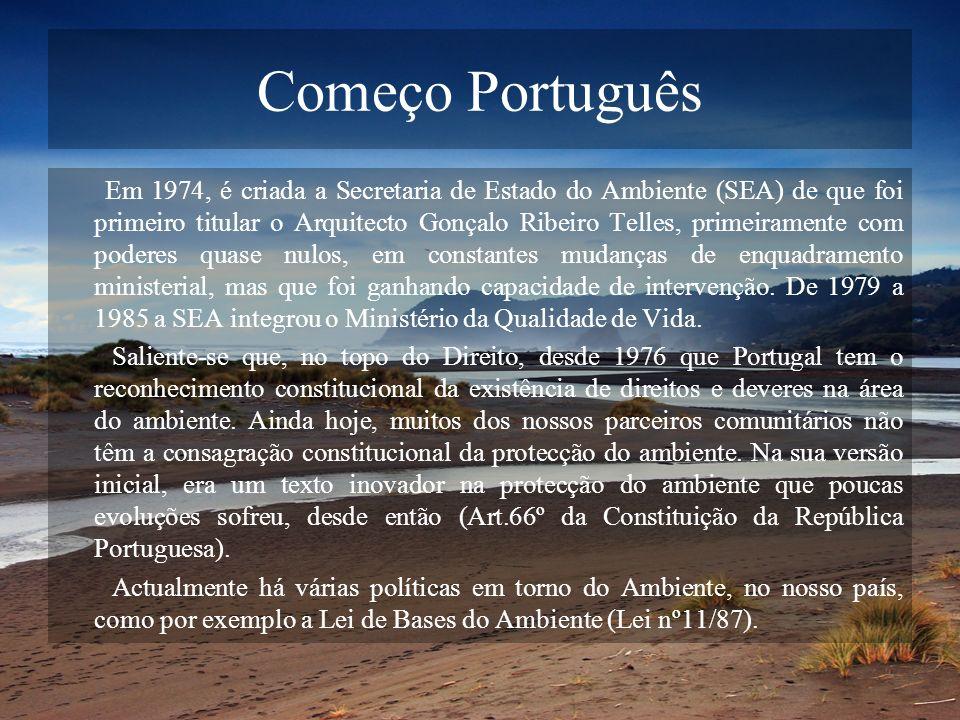 Começo Português