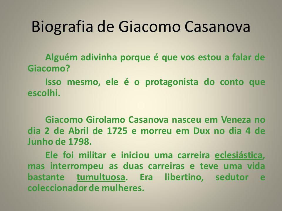 Biografia de Giacomo Casanova
