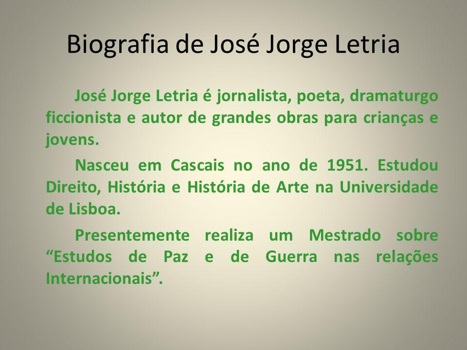 Biografia de José Jorge Letria