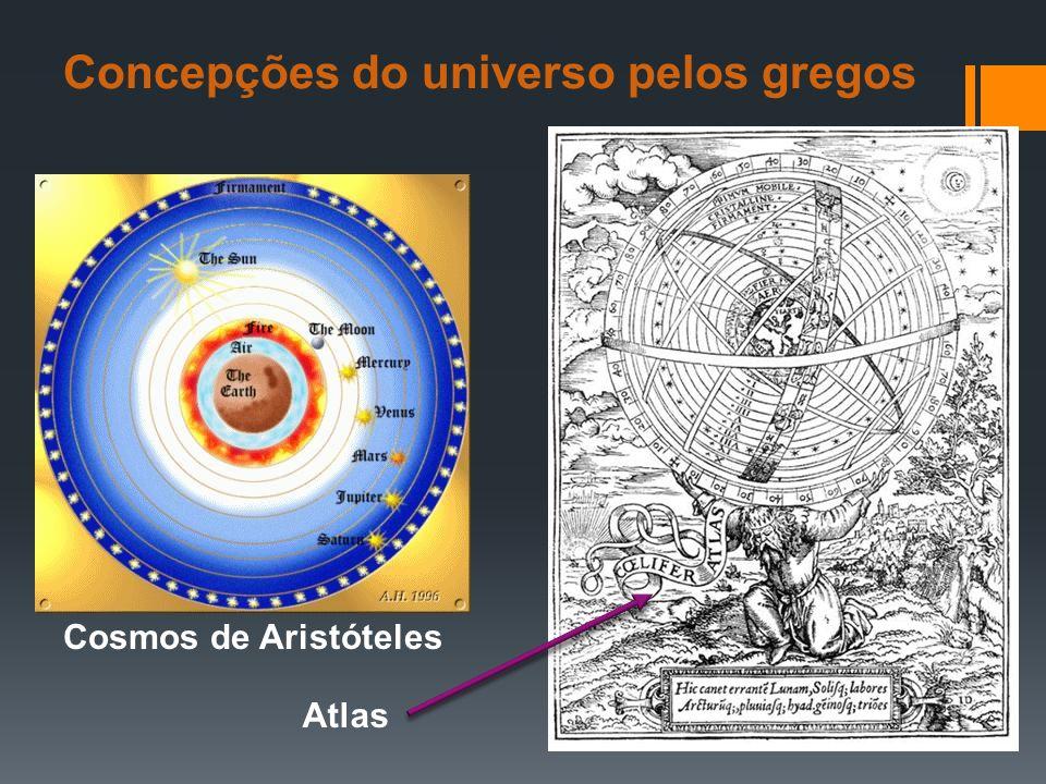 Concepções do universo pelos gregos