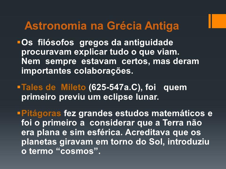 Astronomia na Grécia Antiga