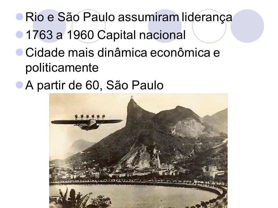 Rio e São Paulo assumiram liderança
