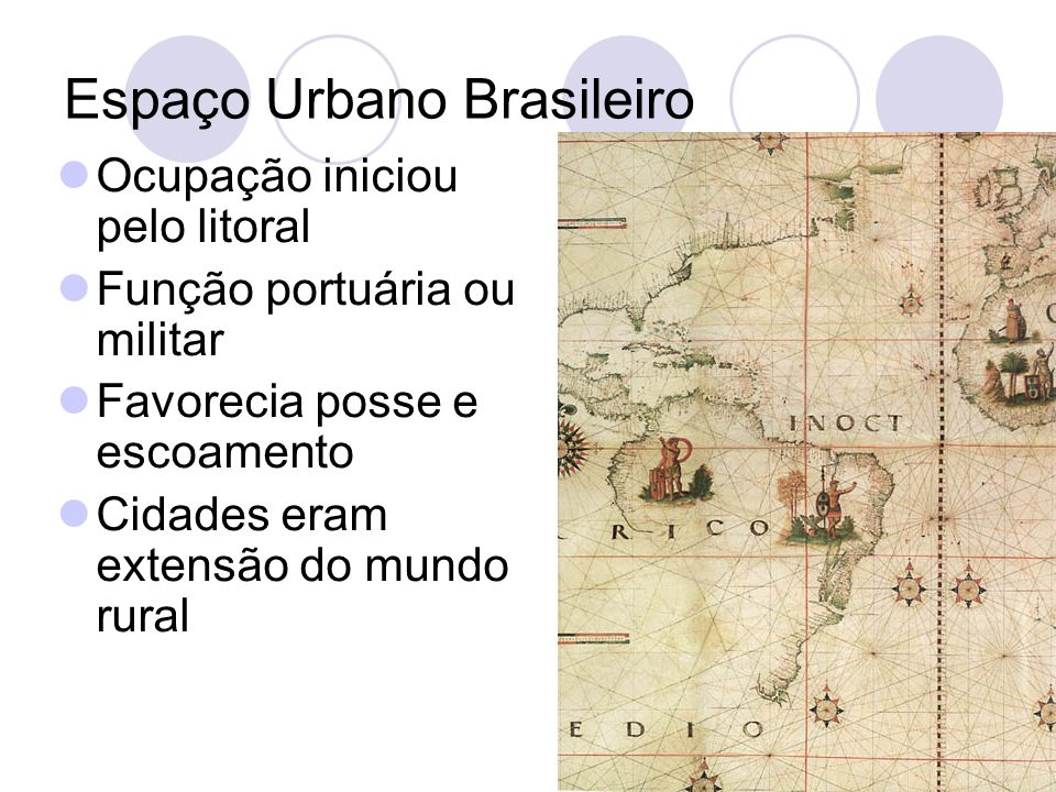 Espaço Urbano Brasileiro