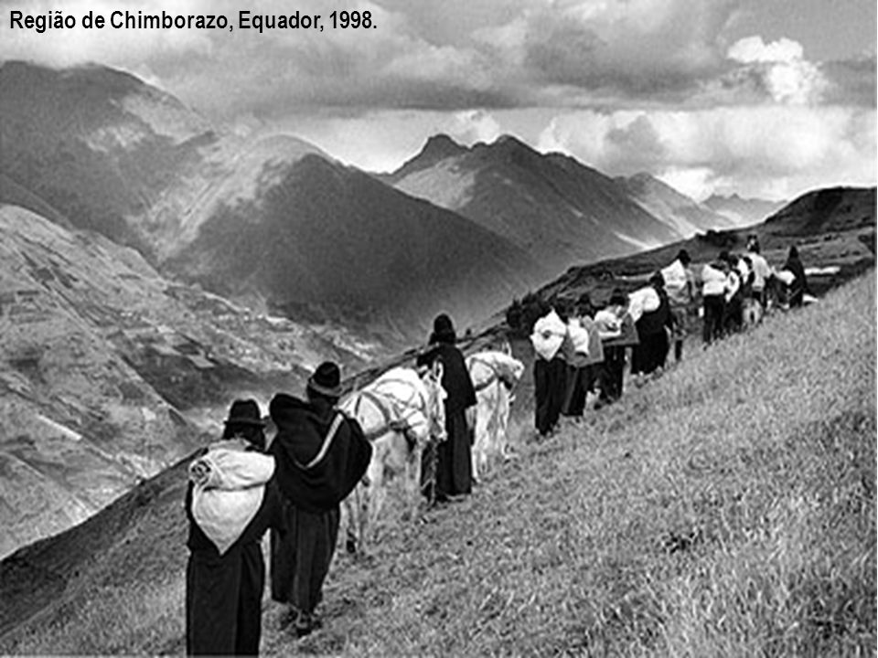 Região de Chimborazo, Equador, 1998.