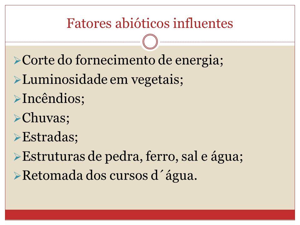 Fatores abióticos influentes