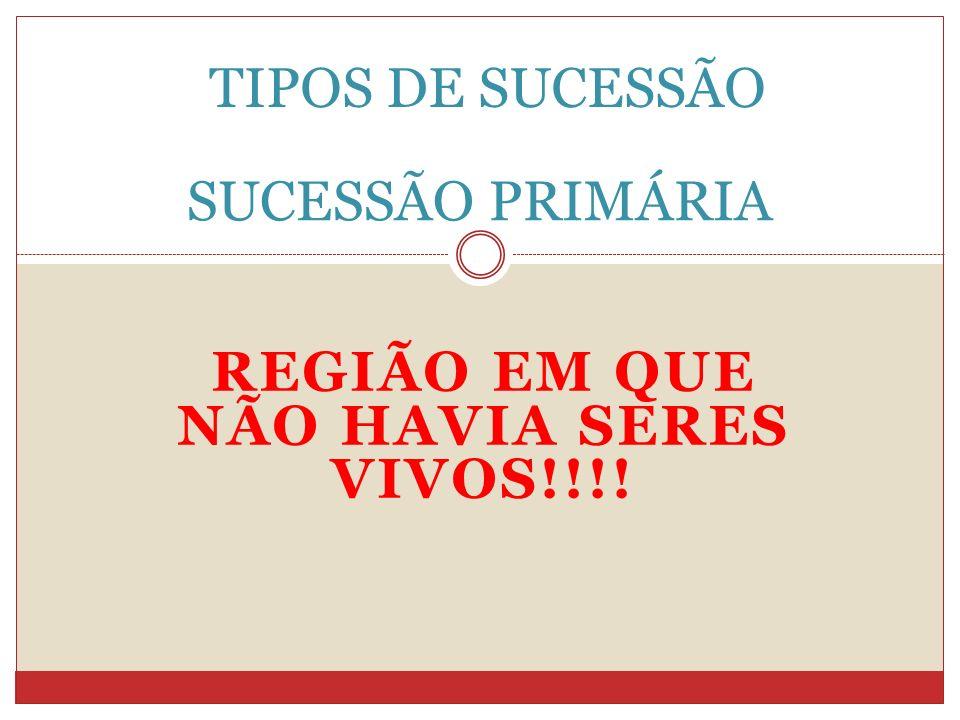 REGIÃO EM QUE NÃO HAVIA SERES VIVOS!!!!