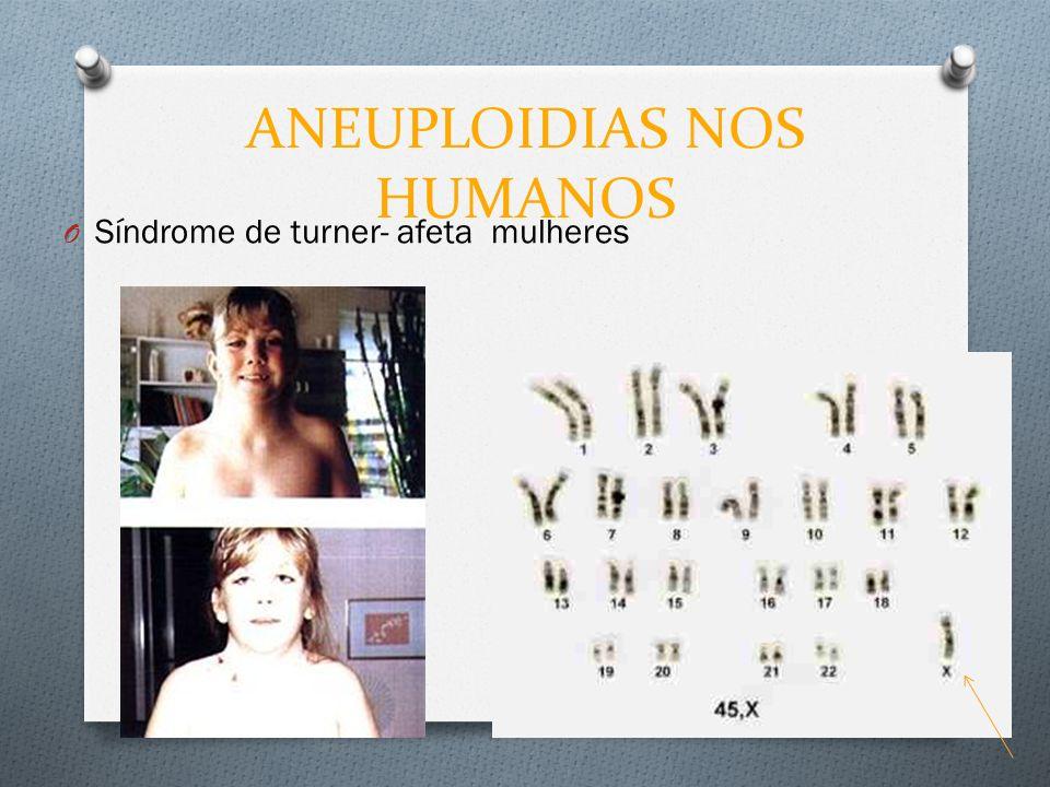 ANEUPLOIDIAS NOS HUMANOS