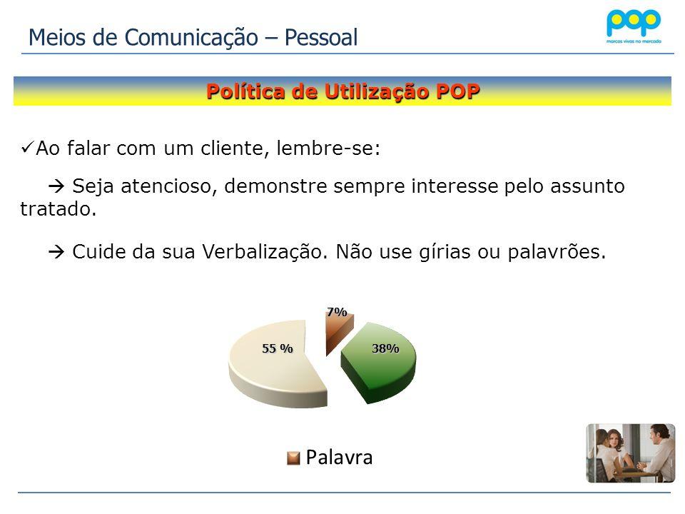 Política de Utilização POP