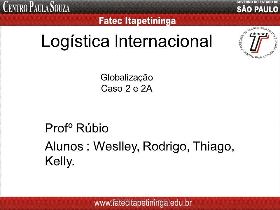 Logística Internacional Globalização Caso 2 e 2A